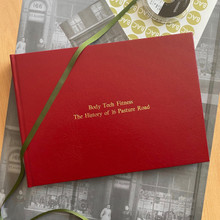 Traditional Classic Red Leather Photo Album