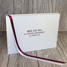 Ruby - 40th Wedding Anniversary Photo Album