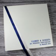 Sapphire - 45th Wedding Anniversary Photo Album