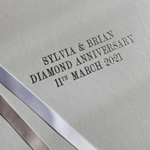 Diamond - 60th Wedding Anniversary Photo Album
