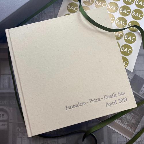 Linen Photo Albums