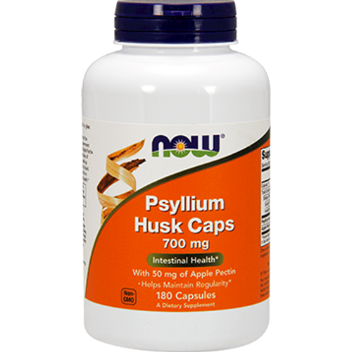 Psyllium Husk/Apple Pectin Caps 700 mg 180 caps (IBS)