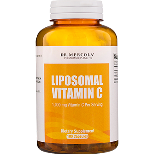 Liposomal Vitamin C 180 caps by Dr. Mercola