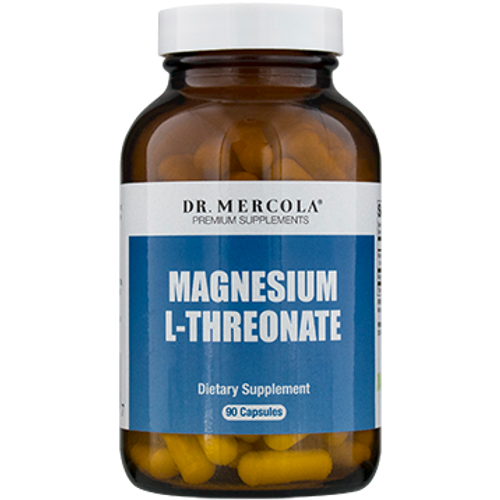 Magnesium L-Threonate 90 caps by Dr. Mercola