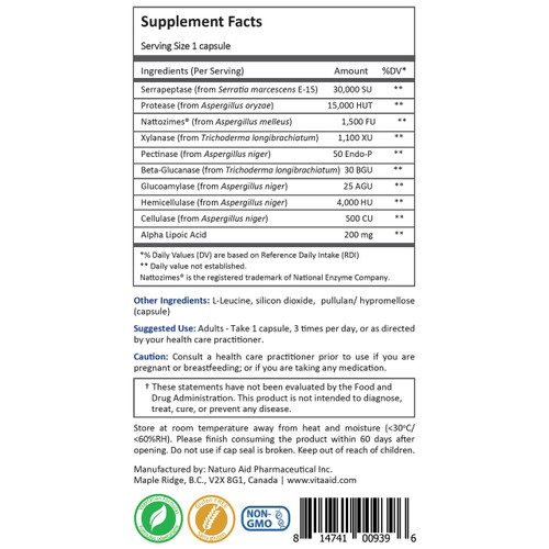 Anti biofilm supplements