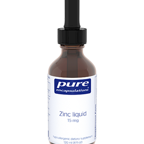 Zinc Liquid 120 ml by Pure Encapsulations