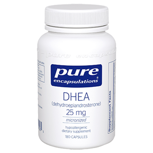 DHEA (micronized) 25 mg 180 vcaps - Pure Encapsulations