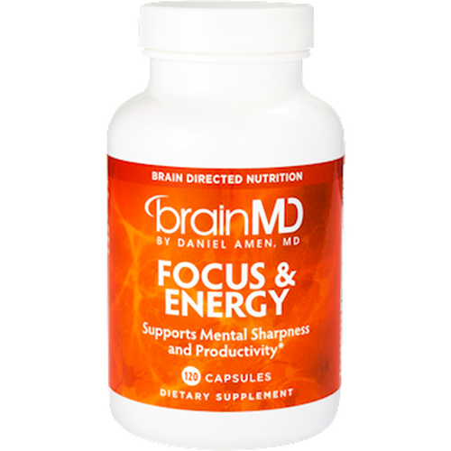 Focus and Energy 120 caps BY BrainMD/Dr Daniel Amen