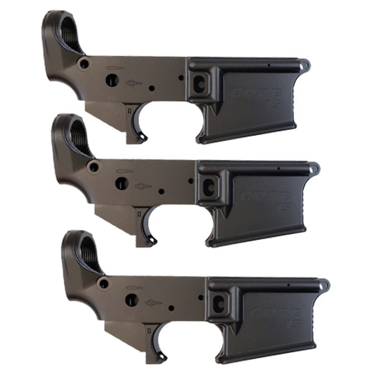 CORE® Stripped Lowers - 3 Pack