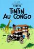 TINTIN POSTER 01 AU CONGO