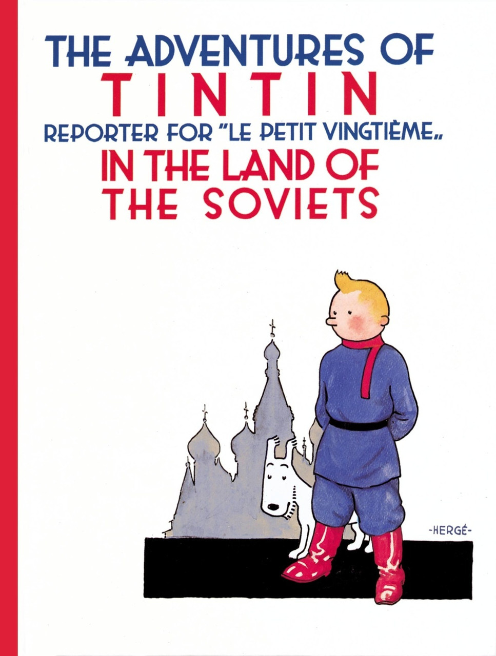 TINTIN HC IN THE LAND OF THE SOVIETS