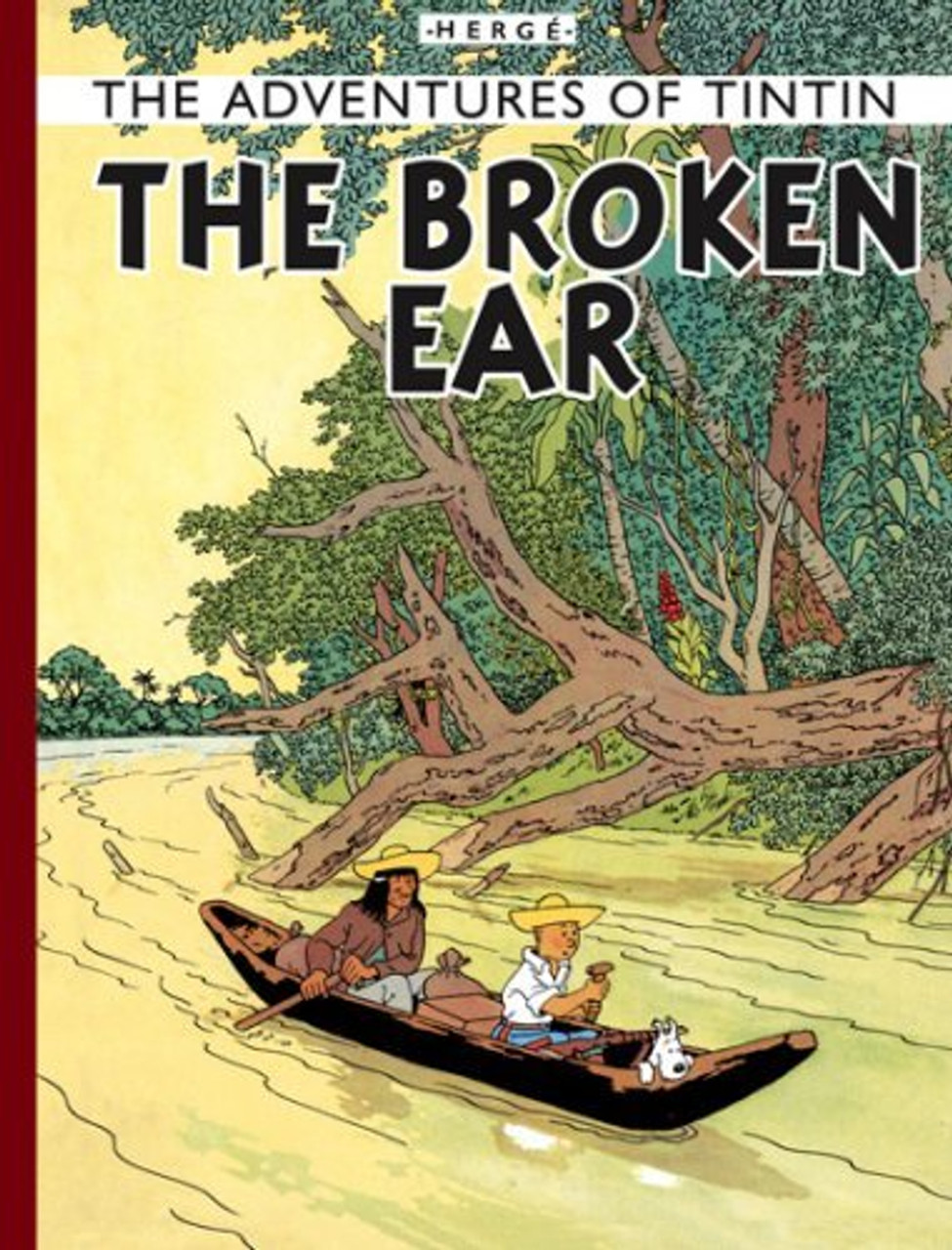 TINTIN & THE BROKEN EAR FACSIMILIE