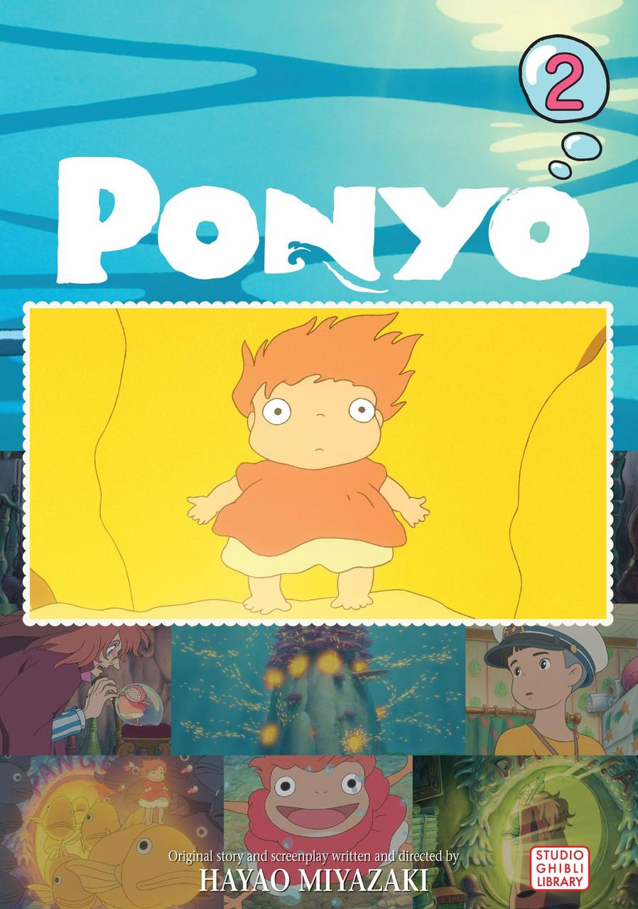 PONYO FILM COMIC VOL 02