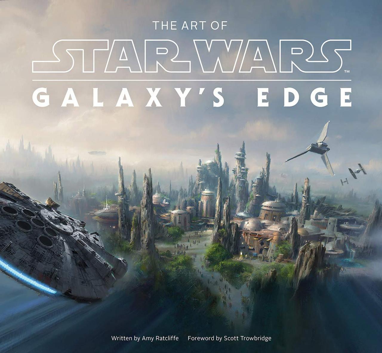 ART OF STAR WARS GALAXYS EDGE HC