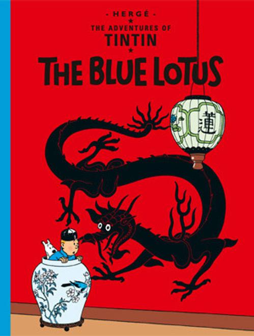 TINTIN HC THE BLUE LOTUS