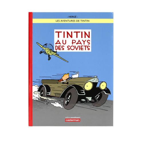 TINTIN FRENCH HC AU PAYS DES SOVIETS COLOUR