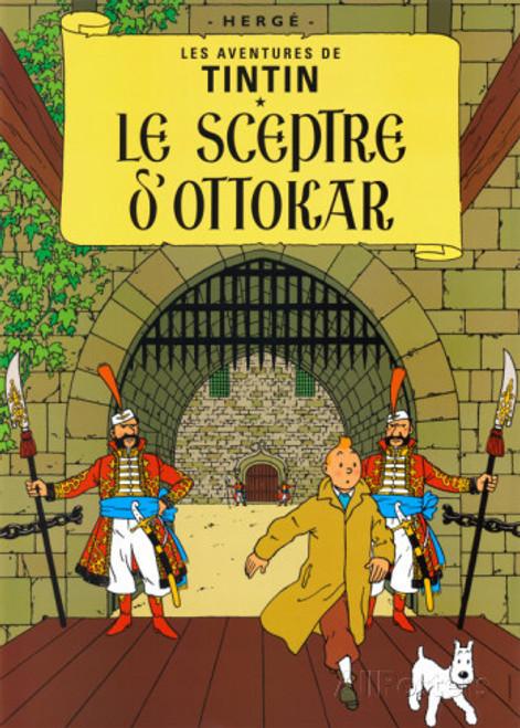 TINTIN POSTER 07 LE SCEPTRE D'OTTOKAR