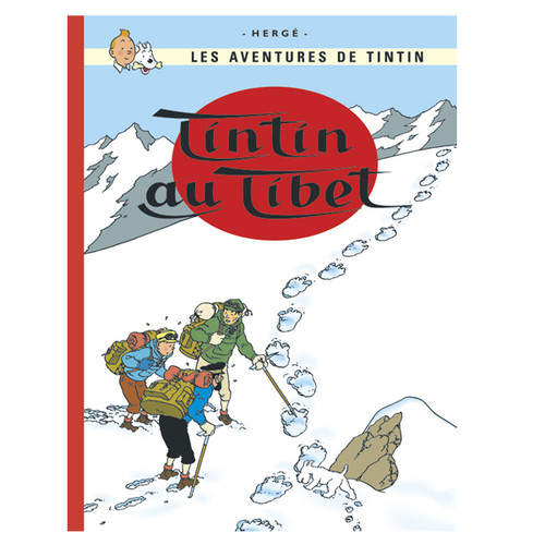 TINTIN FRENCH HC TINTIN AU TIBET ( FR )