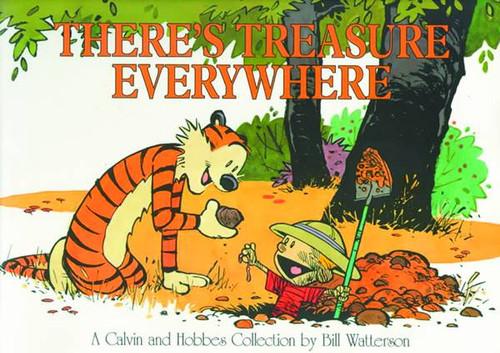 Calvin & Hobbes Theres Treasure Everywhere New Ptg