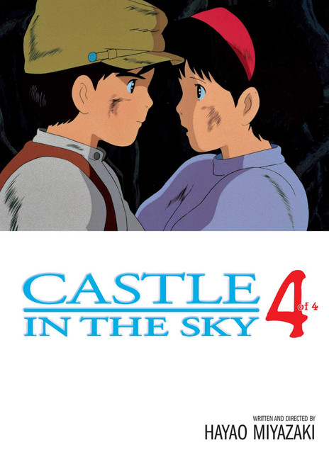 CASTLE IN THE SKY LAPUTA FILM COMIC VOL 04