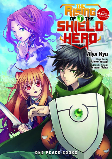 RISING OF THE SHIELD HERO GN VOL 01 MANGA