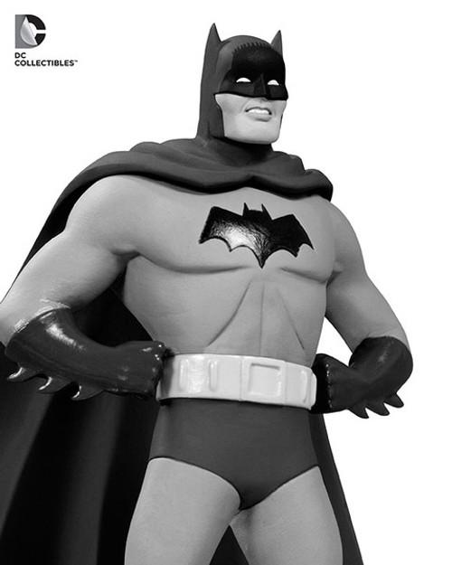 BATMAN BLACK & WHITE STATUE BY DICK SPRANG