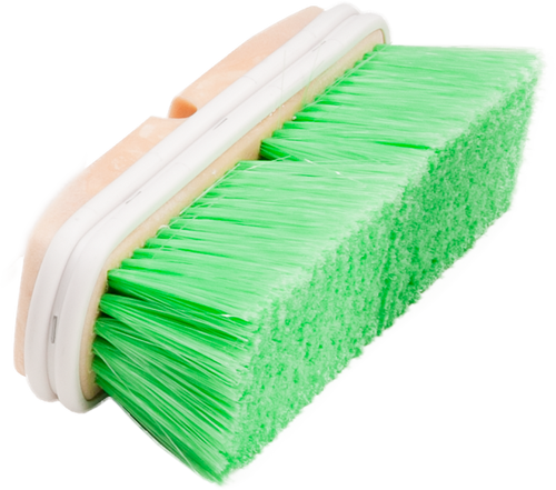 Car Wash Brush-Nylon (Green)