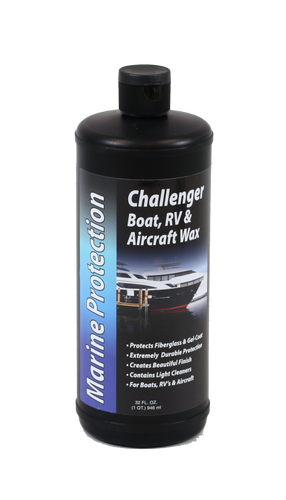 CHALLENGER BOAT, RV & AIRCRAFT WAX - QUART