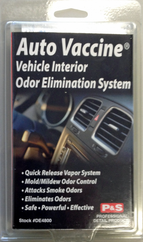 AUTO VACCINE® - VEHICLE INTERIOR ODOR ELIMINATION SYSTEM