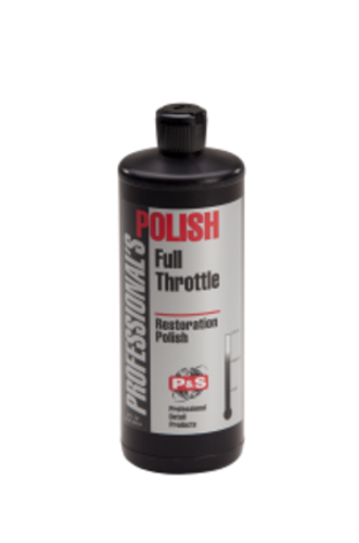 Full Throttle Performance Cleaner/Polish is the ideal produc