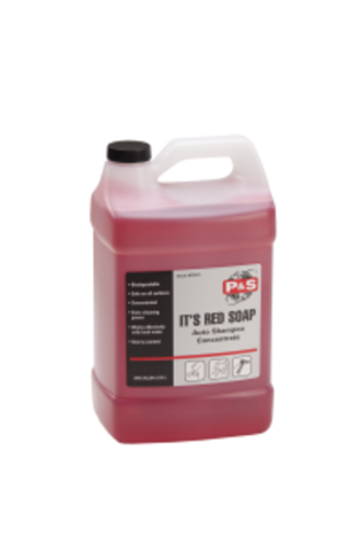 Highly concentrated, 128 to 1, super sudsing, cherry scented