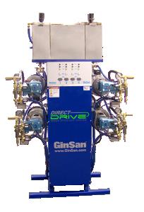 GinSan Direct Drive-SES Self Service pump