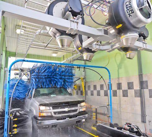 MacNeil Express Mini Tunnel car wash