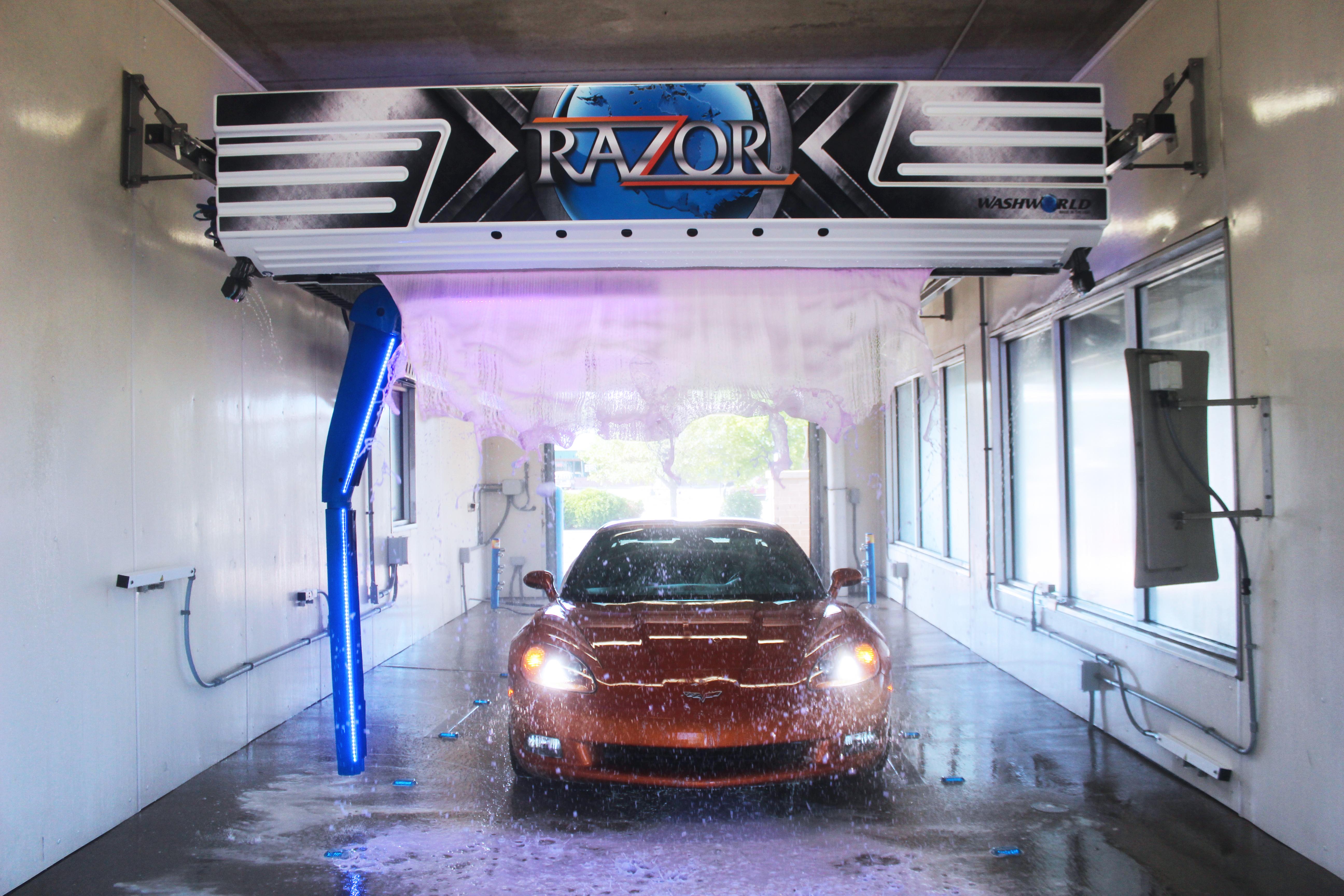 Washworld Razor car wash
