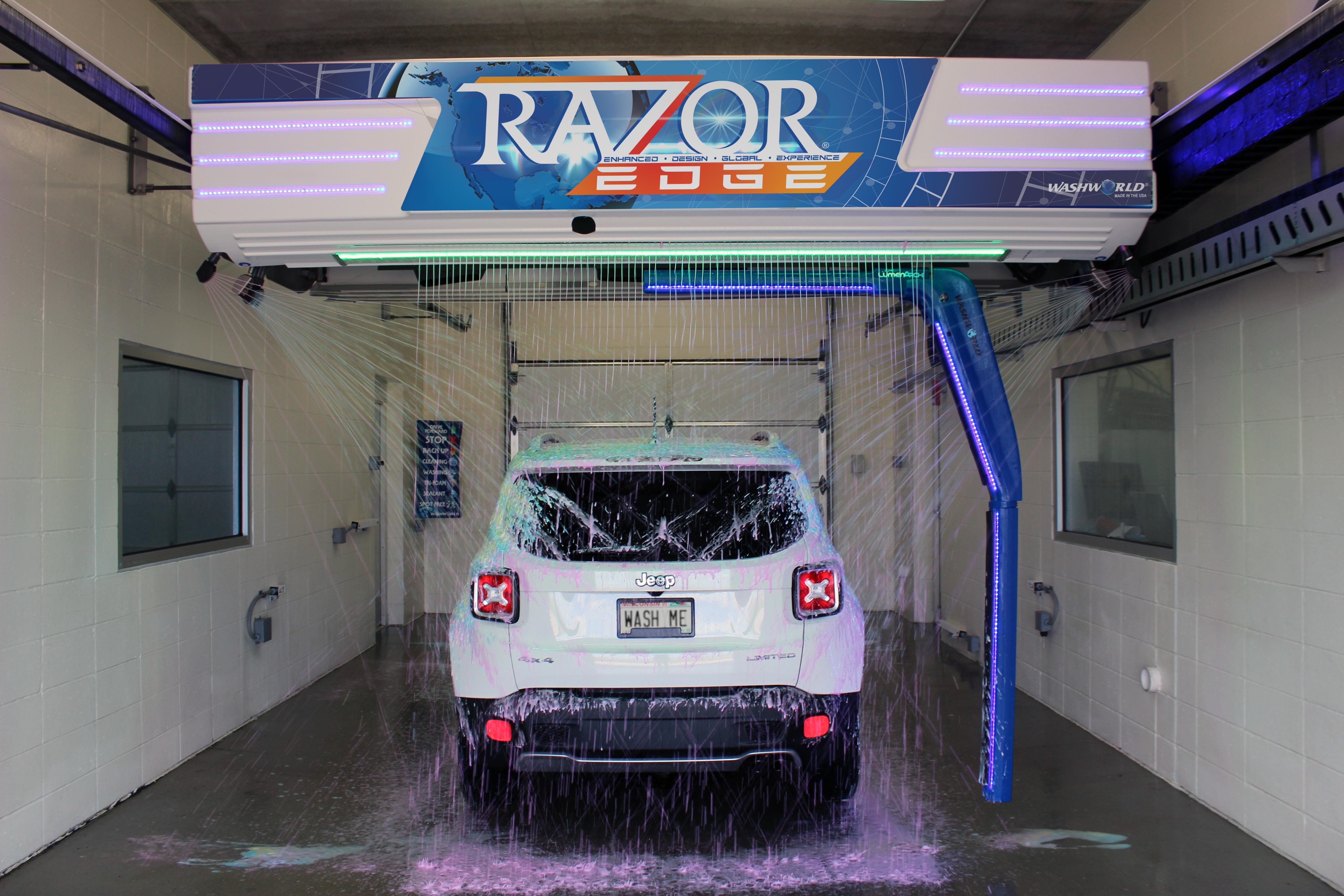 Washworld Razor EDGE car wash
