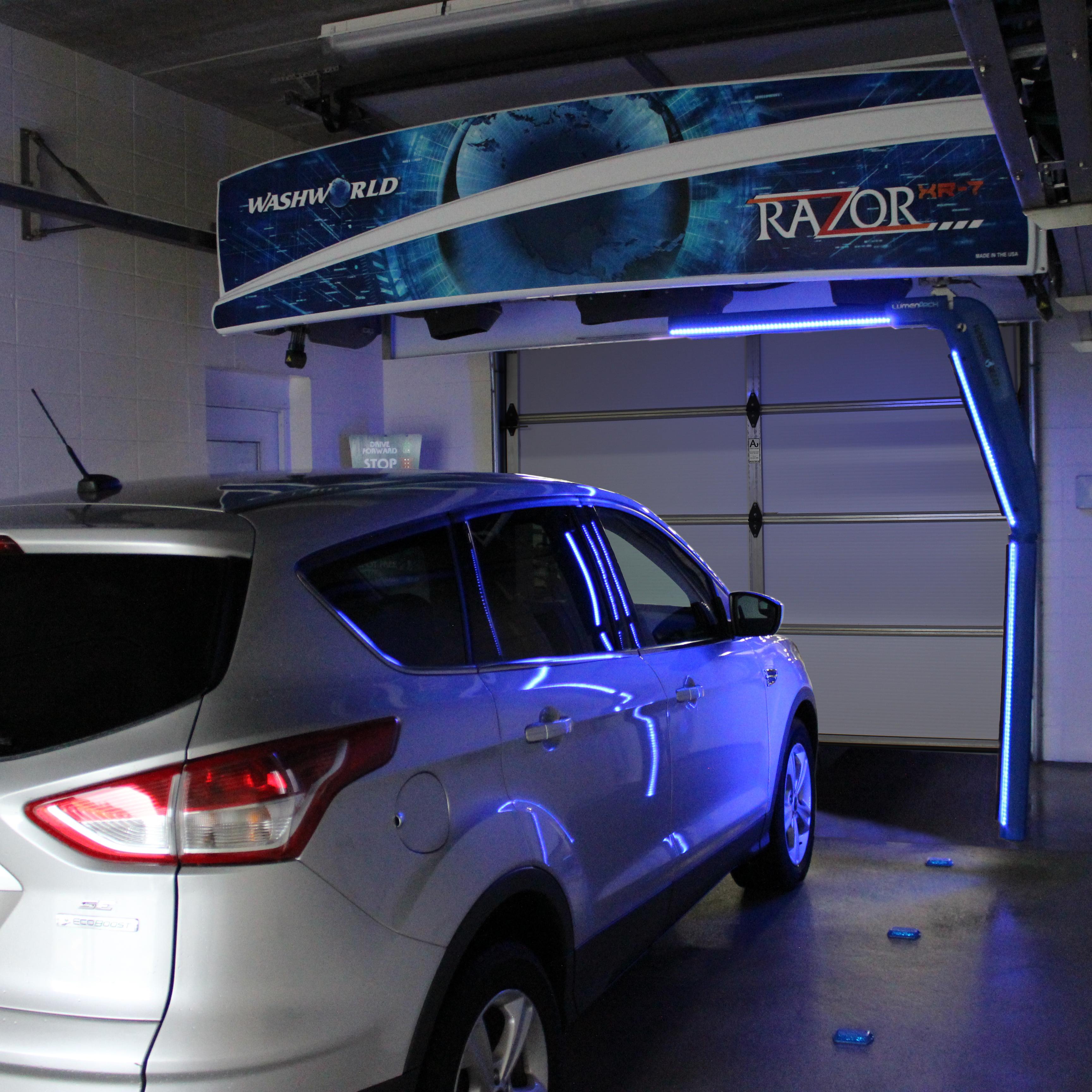 Washworld Razor XR-7 car wash