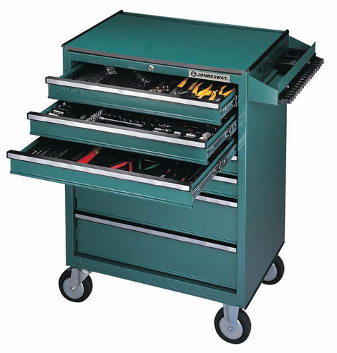 7 Drawer Tool Trolley with Table - Part no. NGJWC7DW1