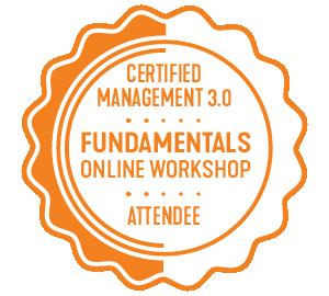 medalla management 3.0 logo certificado management3.0