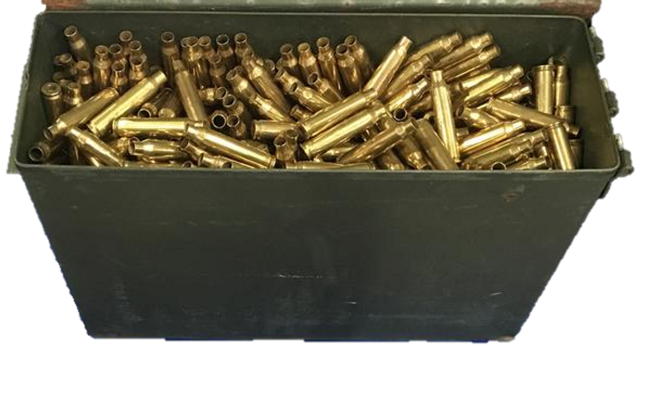 5.56 LC Brass + M19A1 can -- Un-Processed (~700 ct)