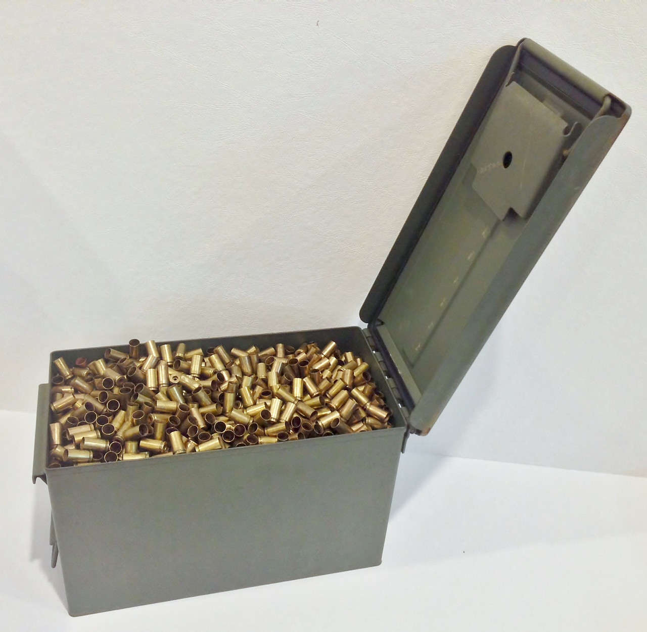 9mm Brass + M2A1 Can -- Un-Processed (~3,000 ct)