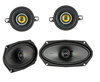 1. SPEAKER PACKAGE WITH MOUNTING OFFSETS AND HARDWARE