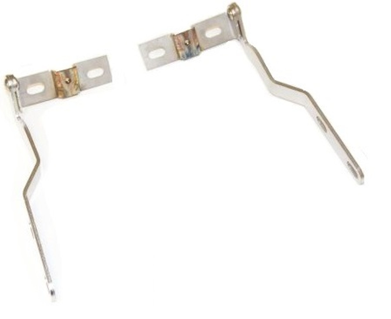 18. LOUVRE HINGE KIT STAINLESS