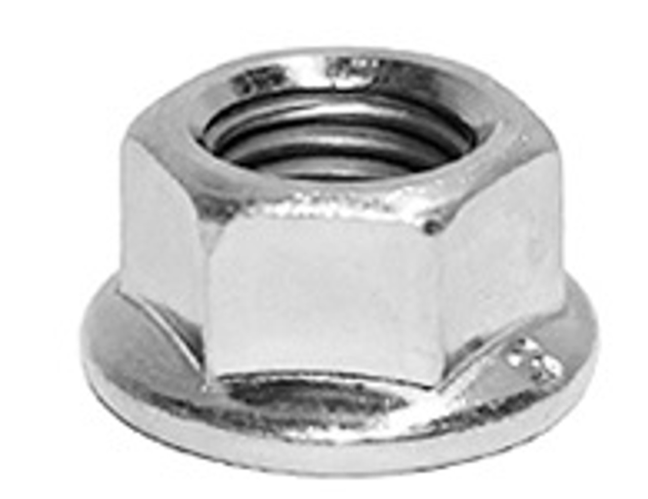 5. NUT M10 FLANGED STAINLESS