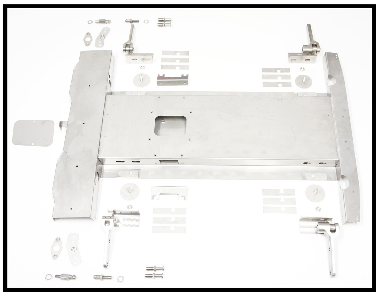 1. ULTIMATE STAINLESS ROOF BOX ASSEMBLY KIT