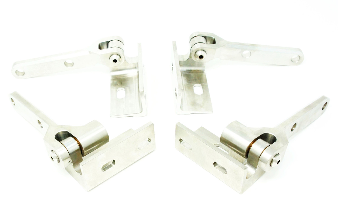 1. DOOR HINGE SET STAINLESS