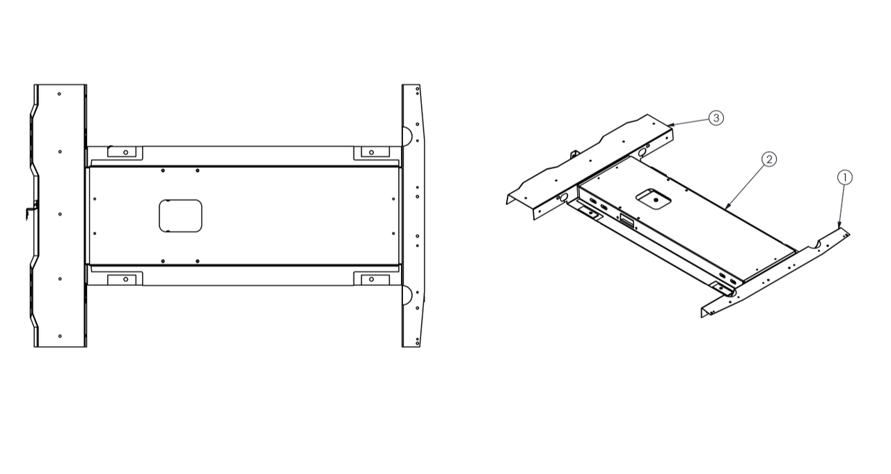 1. STAINLESS ROOF BOX ASSEMBLY BASE