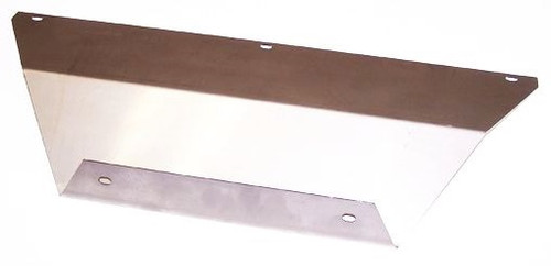 48. FRONT LICENSE PLATE BRACKET  KIT STAINLESS
