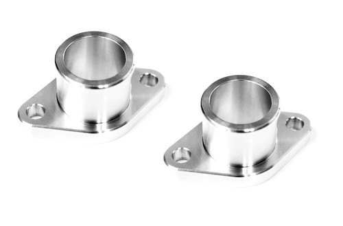 14. FLANGE WATER PUMP CROSS OVER BILLET (PAIR)