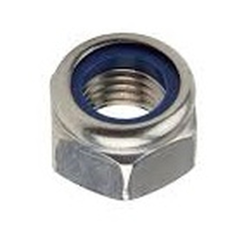 12. NYLOC NUT M5 STAINLESS