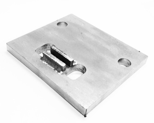 15. RETAINER, RACK (PLATE ONLY) STAINLESS